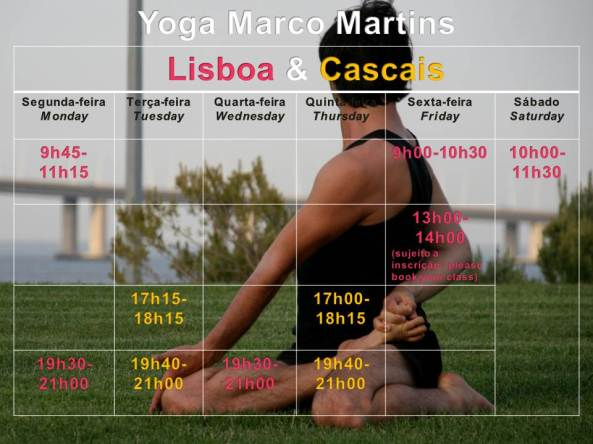 yoga Marco Martins Lisboa Cascais II