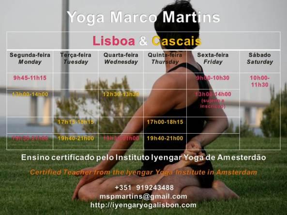 yoga Marco Martins Lisboa Cascais